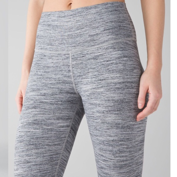 6efebd158 NWT Lululemon High Times Pant 6 Space Dye Grey